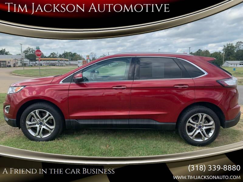 2016 Ford Edge for sale at Tim Jackson Automotive in Jonesville LA