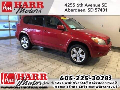 2007 Toyota RAV4 for sale at Harr's Redfield Ford in Redfield SD