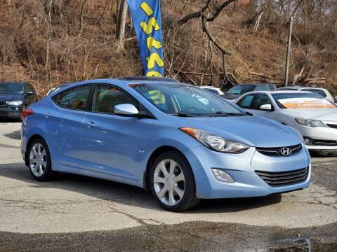 2012 Hyundai Elantra for sale at FAYAD AUTOMOTIVE GROUP in Pittsburgh PA