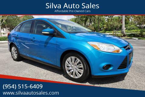 2013 Ford Focus for sale at Silva Auto Sales in Pompano Beach FL