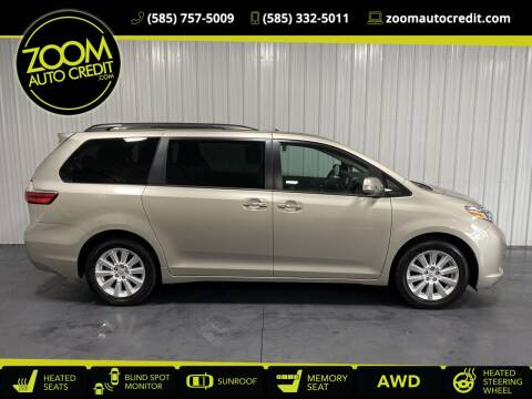 2015 Toyota Sienna for sale at ZoomAutoCredit.com in Elba NY