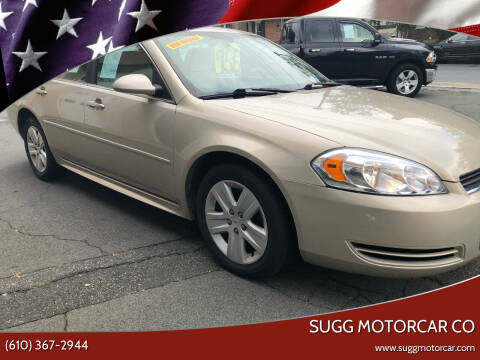 2011 Chevrolet Impala for sale at Sugg Motorcar Co in Boyertown PA