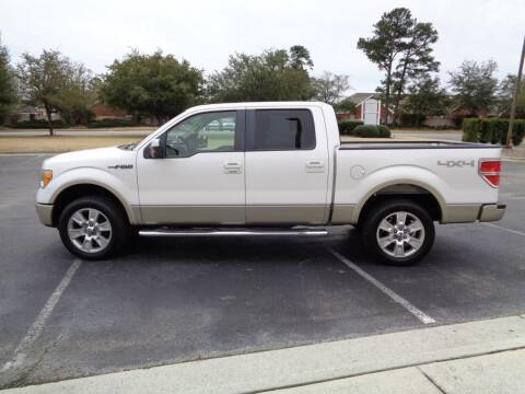 2010 Ford F-150 for sale at BALKCUM AUTO INC in Wilmington NC
