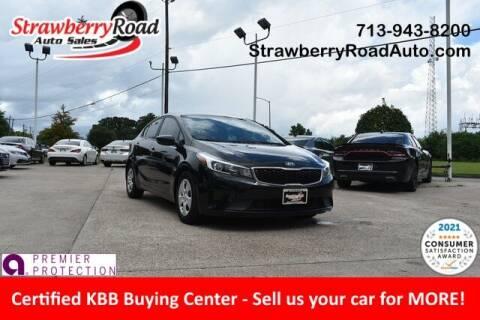 2017 Kia Forte for sale at Strawberry Road Auto Sales in Pasadena TX