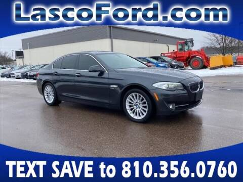2011 BMW 5 Series for sale at Lasco of Grand Blanc in Grand Blanc MI