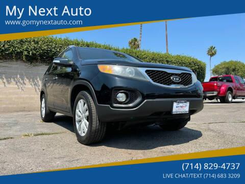 2011 Kia Sorento for sale at My Next Auto in Anaheim CA