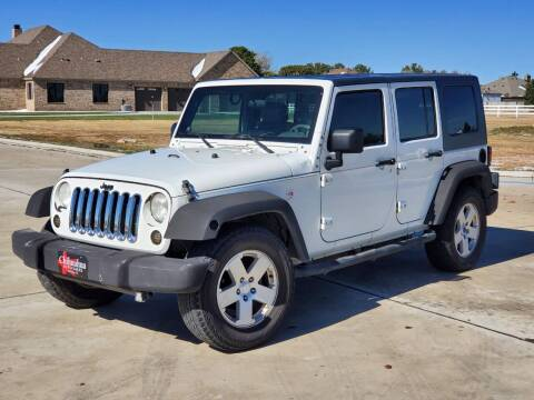 2007 Jeep Wrangler Unlimited for sale at Chihuahua Auto Sales in Perryton TX