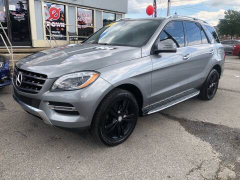 2014 Mercedes-Benz M-Class for sale at Bagwell Motors Springdale in Springdale AR