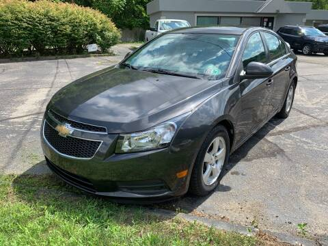2014 Chevrolet Cruze for sale at B & P Motors LTD in Glenshaw PA