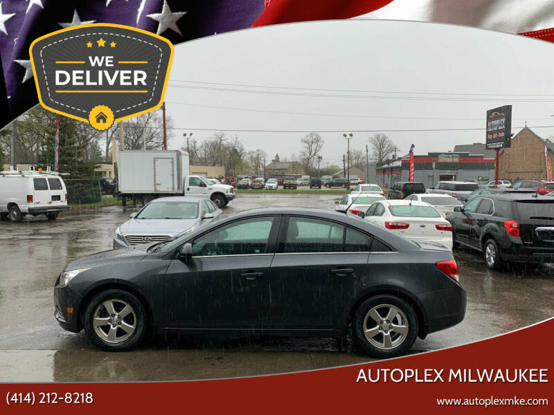 2013 Chevrolet Cruze for sale at Autoplexwest in Milwaukee WI