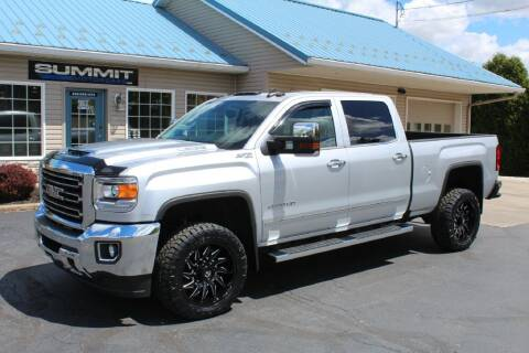 2018 GMC Sierra 2500HD for sale at Summit Motorcars in Wooster OH