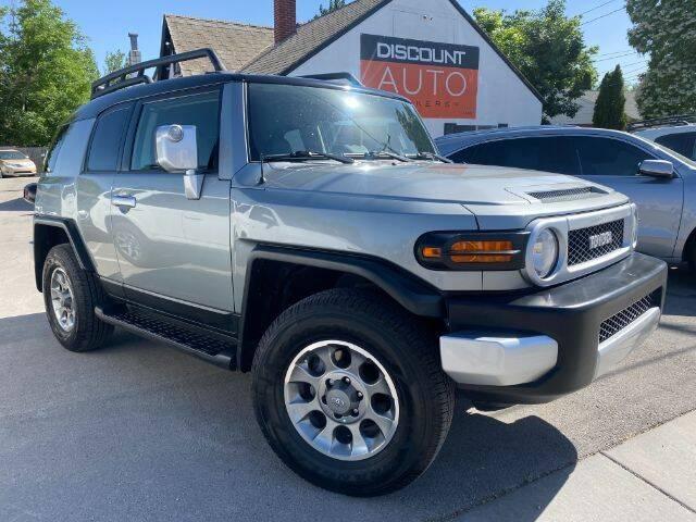 2012 Toyota FJ Cruiser for sale at Discount Auto Brokers Inc. in Lehi UT