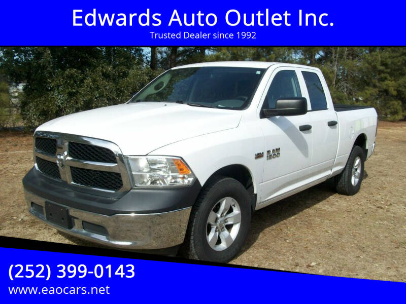 2015 RAM Ram Pickup 1500 for sale at Edwards Auto Outlet Inc. in Wilson NC