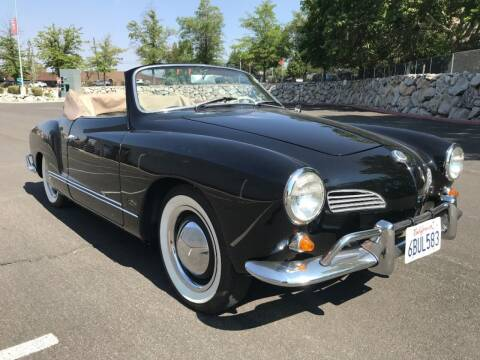 1963 Volkswagen Karmann Ghia for sale at NJ Enterprises in Indianapolis IN