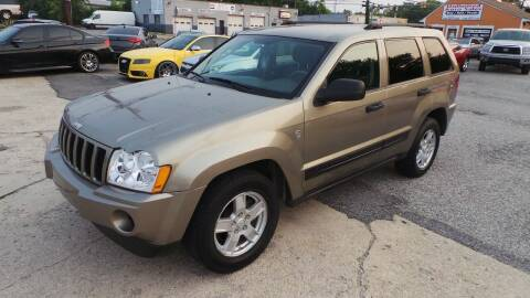 2006 Jeep Grand Cherokee for sale at Unlimited Auto Sales in Upper Marlboro MD
