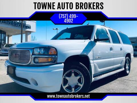 2004 GMC Yukon XL for sale at TOWNE AUTO BROKERS in Virginia Beach VA
