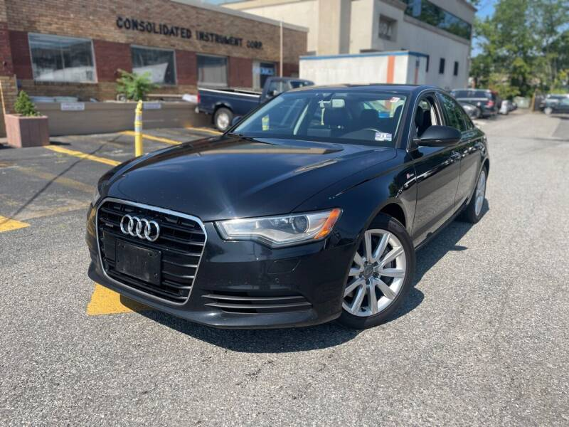 2013 Audi A6 for sale at A1 Auto Mall LLC in Hasbrouck Heights NJ