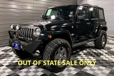 2013 Jeep Wrangler Unlimited for sale at TRUST AUTO in Sykesville MD