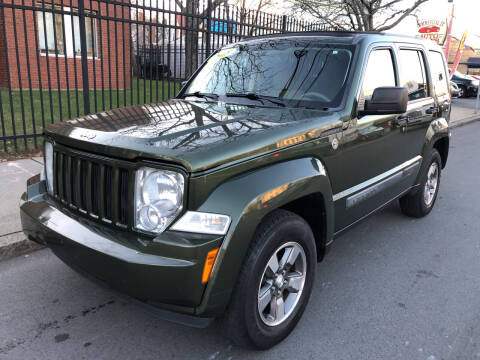 2008 Jeep Liberty for sale at Commercial Street Auto Sales in Lynn MA