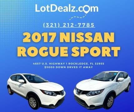 2017 Nissan Rogue Sport for sale at ROCKLEDGE in Rockledge FL