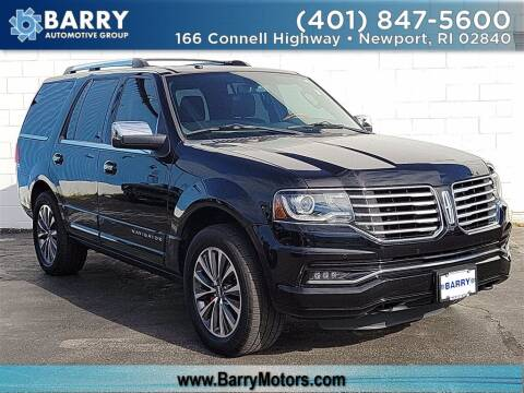 2017 Lincoln Navigator for sale at BARRYS Auto Group Inc in Newport RI
