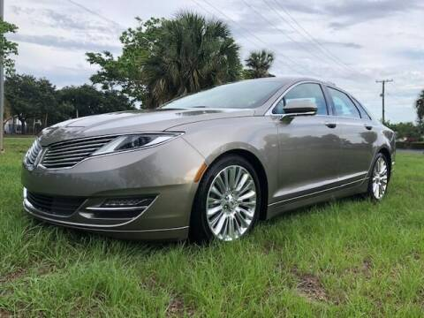 2016 Lincoln MKZ for sale at GTR MOTORS in Hollywood FL