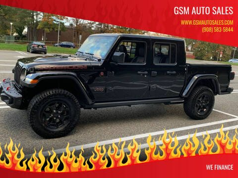 2020 Jeep Gladiator for sale at GSM Auto Sales in Linden NJ