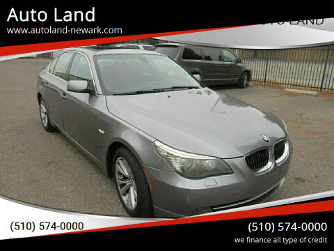 2009 BMW 5 Series for sale at Auto Land in Newark CA