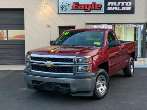 2014 Chevrolet Silverado 1500 for sale at Eagle Auto Sales LLC in Holbrook MA