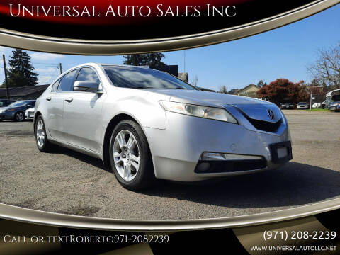 2009 Acura TL for sale at Universal Auto Sales Inc in Salem OR