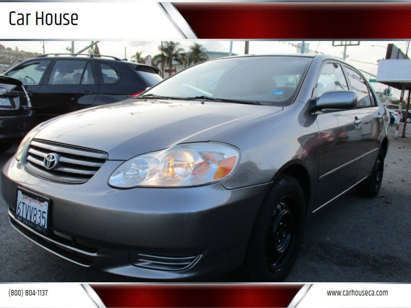 2004 Toyota Corolla for sale at Car House in San Mateo CA