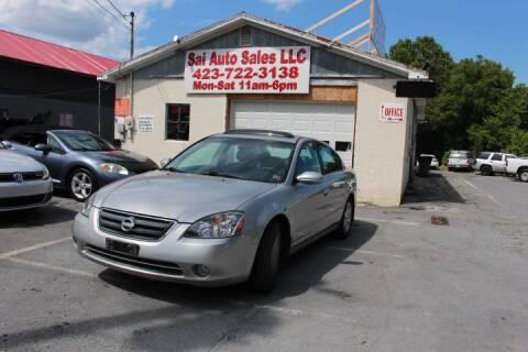 2004 Nissan Altima for sale at SAI Auto Sales - Used Cars in Johnson City TN