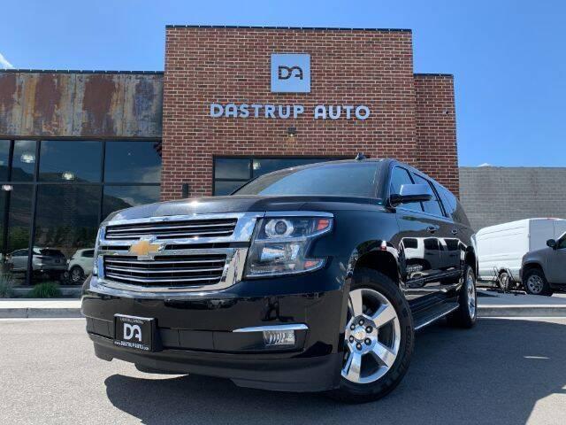 2017 Chevrolet Suburban for sale at Dastrup Auto in Lindon UT