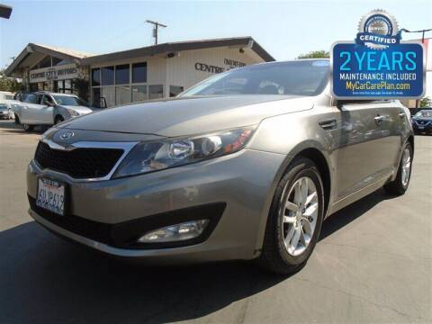 2012 Kia Optima for sale at Centre City Motors in Escondido CA