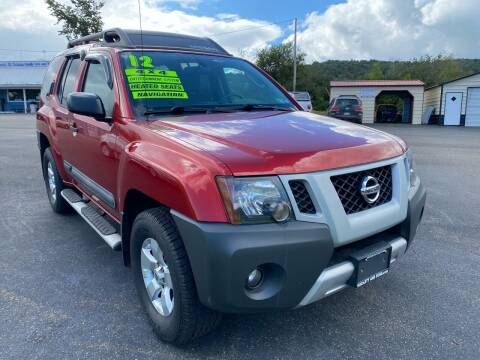 2012 Nissan Xterra for sale at HACKETT & SONS LLC in Nelson PA
