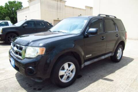 2008 Ford Escape for sale at AUTO VALUE FINANCE INC in Stafford TX
