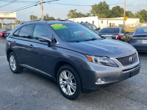 2012 Lexus RX 450h for sale at MetroWest Auto Sales in Worcester MA