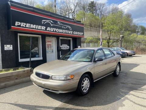 2003 Buick Century for sale at Premier Automotive Group in Pittsburgh PA