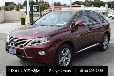 2015 Lexus RX 450h for sale at RALLYE LEXUS in Glen Cove NY