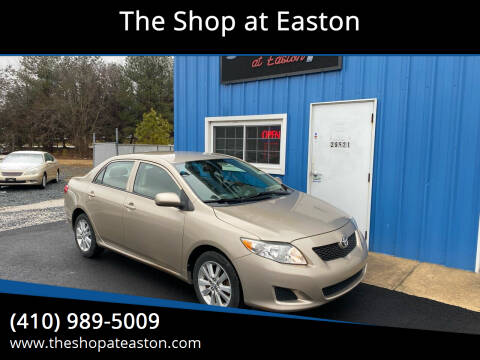 2010 Toyota Corolla for sale at The Shop at Easton in Easton MD