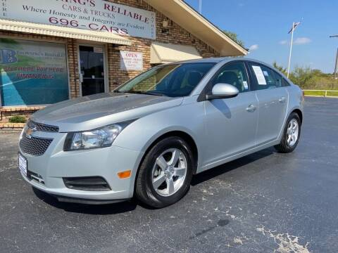2014 Chevrolet Cruze for sale at Browning's Reliable Cars & Trucks in Wichita Falls TX