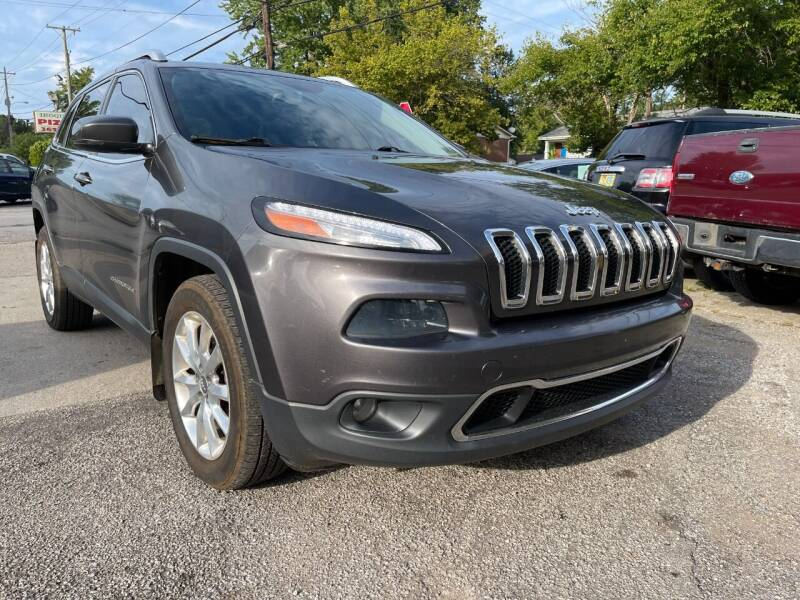 2014 Jeep Cherokee for sale at King Louis Auto Sales in Louisville KY