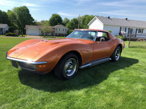 1971 Chevrolet Corvette for sale at STEEL TOWN PRE OWNED AUTO SALES in Weirton WV