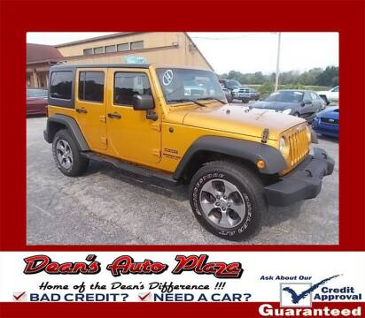 2014 Jeep Wrangler Unlimited for sale at Dean's Auto Plaza in Hanover PA