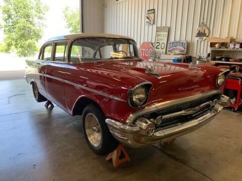 1957 Chevrolet Bel Air for sale at Gary Miller's Classic Auto in El Paso IL