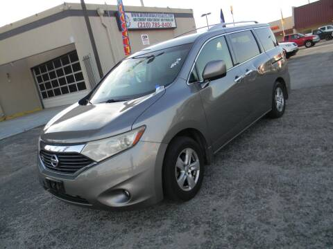 2012 Nissan Quest for sale at Meridian Auto Sales in San Antonio TX