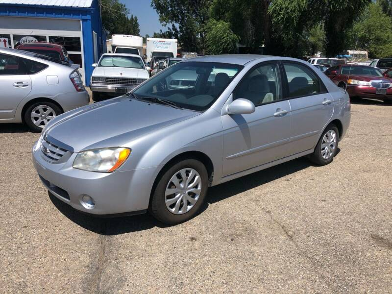 2006 Kia Spectra for sale at AFFORDABLY PRICED CARS LLC in Mountain Home ID
