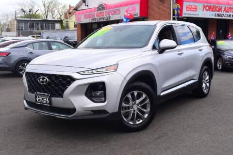 2020 Hyundai Santa Fe for sale at Foreign Auto Imports in Irvington NJ