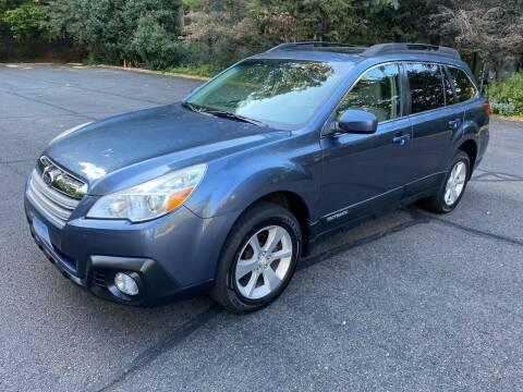 2013 Subaru Outback for sale at Car World Inc in Arlington VA