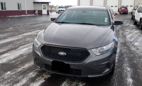 2014 Ford Taurus for sale at Ron Lowman Motors Minot in Minot ND